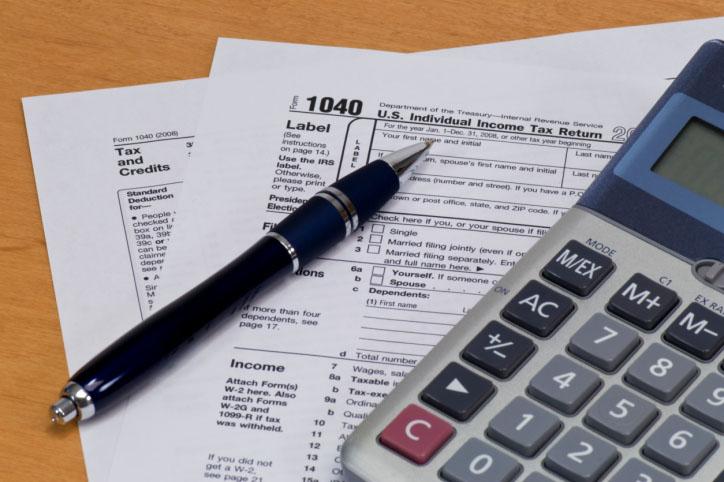 1040 U.S. Tax Form